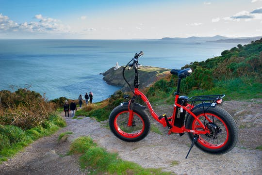 Howth panoramic e-Bike tour in Dublin