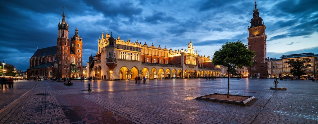 Creepy Cracow by night tour