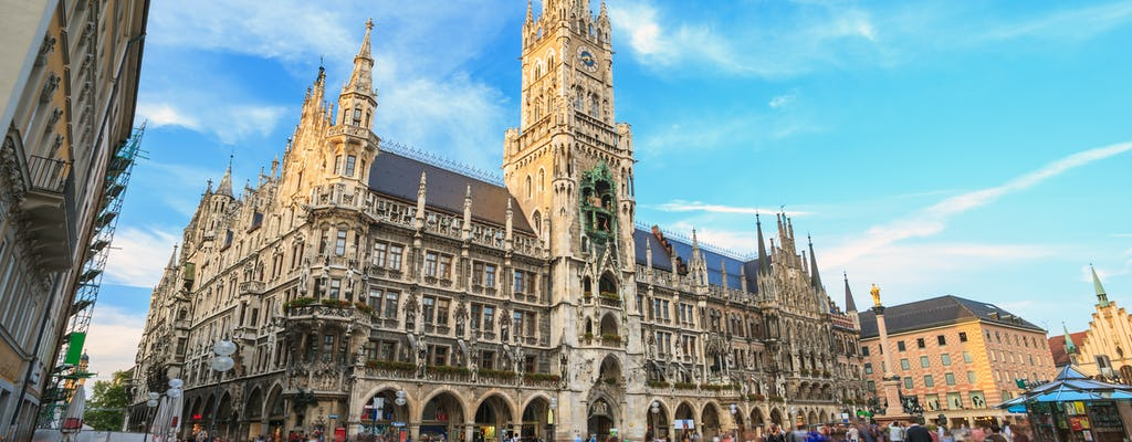 English Garden and Munich city tour
