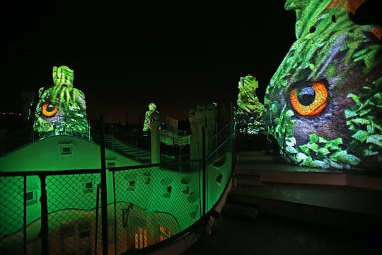 Experiência noturna em La Pedrera