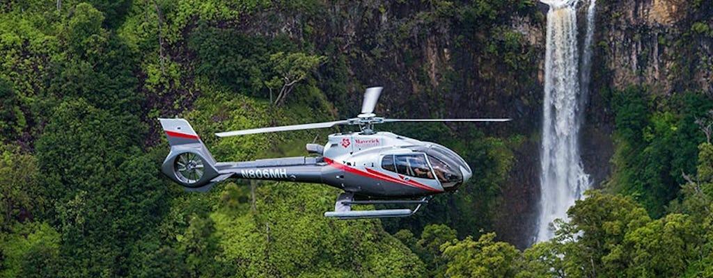 Découvrez le vol en hélicoptère de Kauai