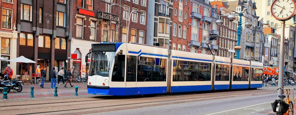 Bilet komunikacji miejskiej w Amsterdamie ważny od 1 do 7 dni