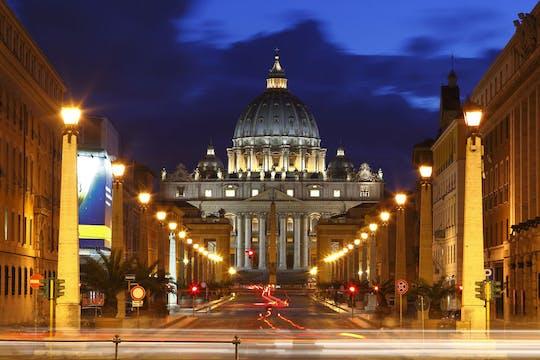 Privérondleiding door Rome 's nachts met ophaalservice