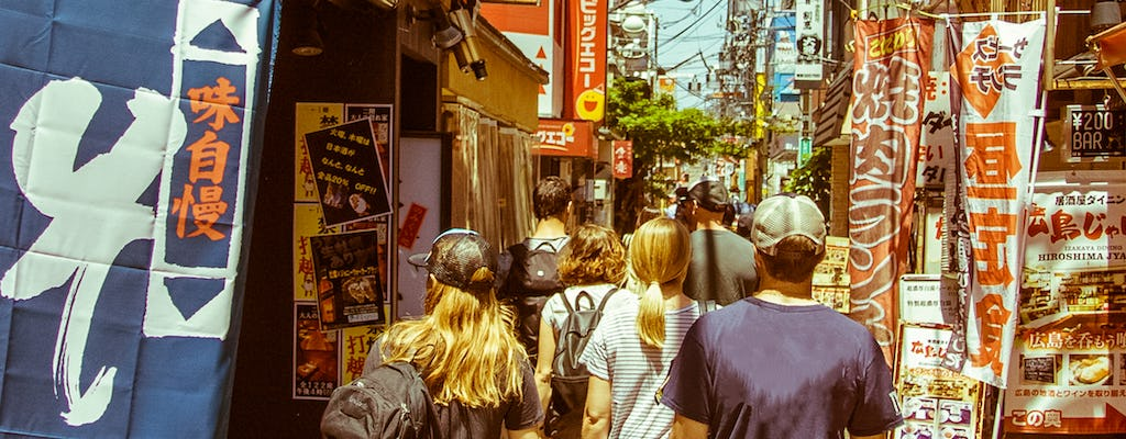 Tokyo West-Side walking and street-food tour