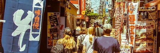 Excursão a pé e comida de rua no lado oeste de Tóquio