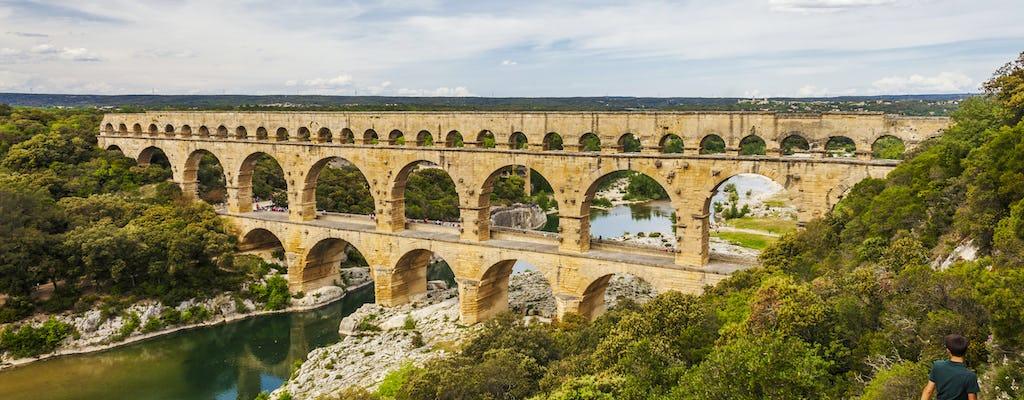 Bilhete de entrada para a Pont du Gard