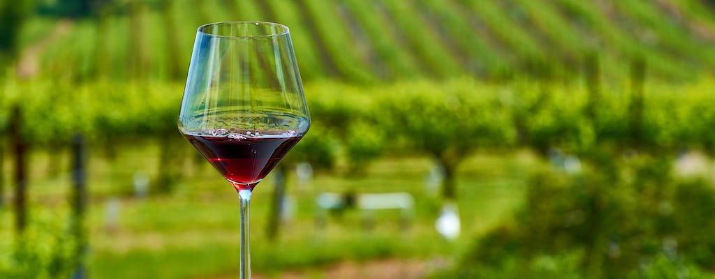 Degustacja wina i oleju z Barcelony