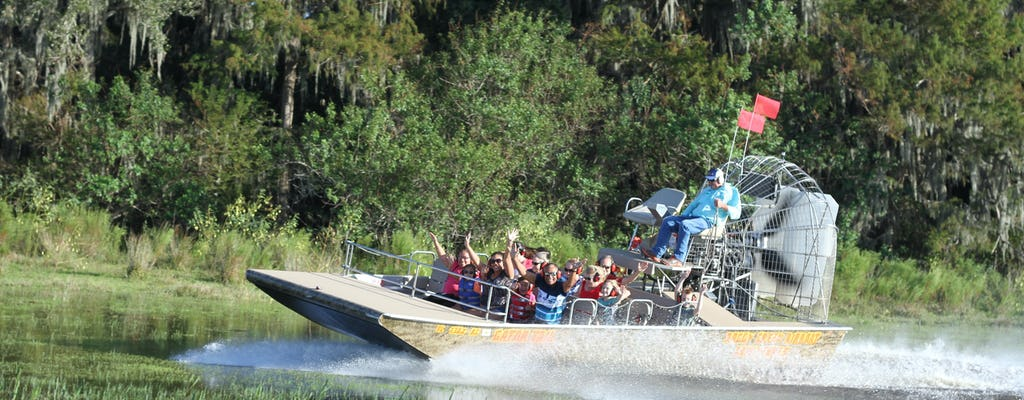 Scenic thirty minute Central Florida Everglades airboat tour with park admission