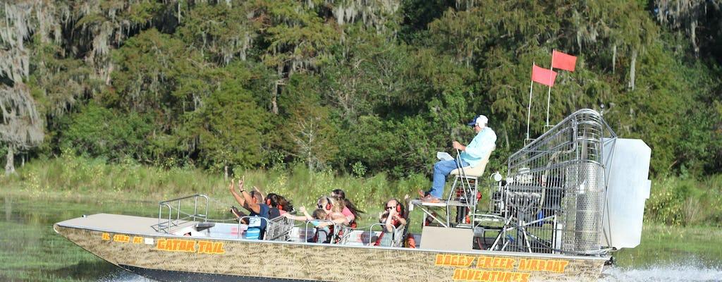Tour privato di un'ora in motoscafo della Florida centrale Everglades con ingresso al parco