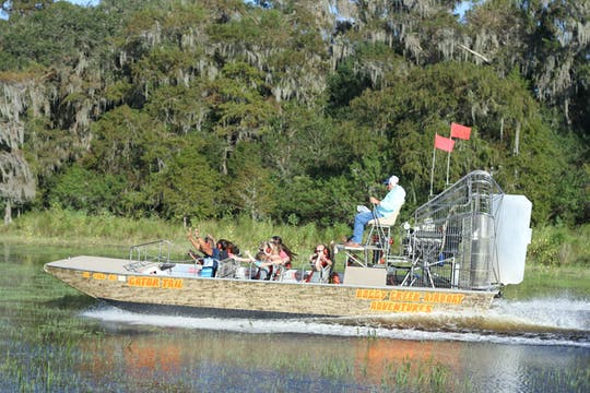 Private one hour Central Florida Everglades airboat tour with park admission