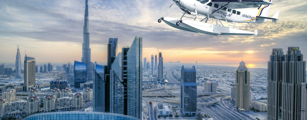 Dubai from the sky and high tea in Al Bayt - The Palace Downtown