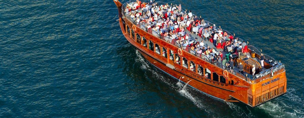 Sundowner Cruise on Dubai Creek