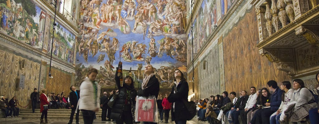 Exclusive first entry: Sistine Chapel and Vatican Museums tour