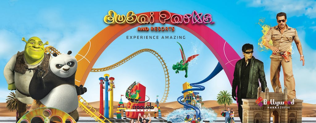 Bilety do Dubai Parks and Resorts z transferem