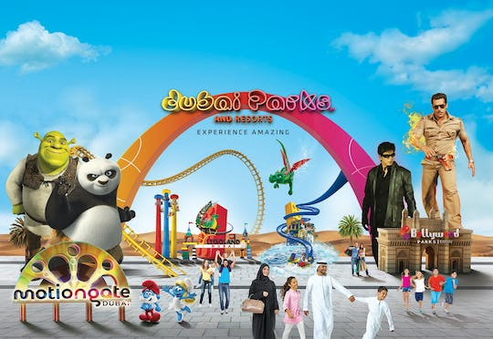 Entradas para Dubai Parks and Resorts con transporte