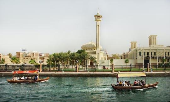 Stadstour in Dubai en tickets voor Dubai Parks and Resorts