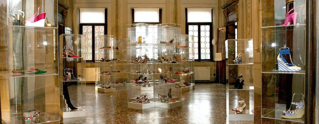 Biglietti per il Museo della Calzatura di Villa Foscarini Rossi