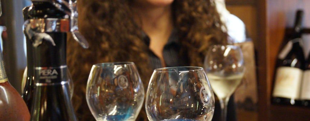 Degustação de vinhos venezianos no Dai Do Cancari