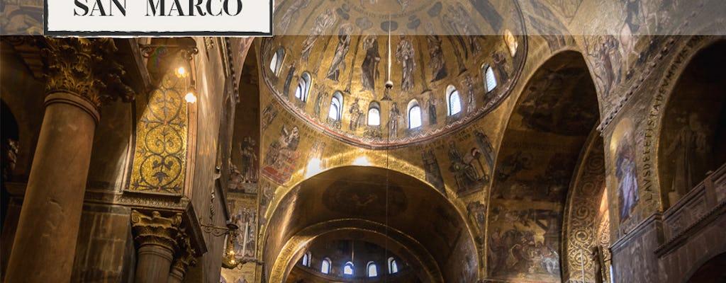 Tour a piedi della Venezia bizantina con biglietti salta-fila della Basilica d'oro
