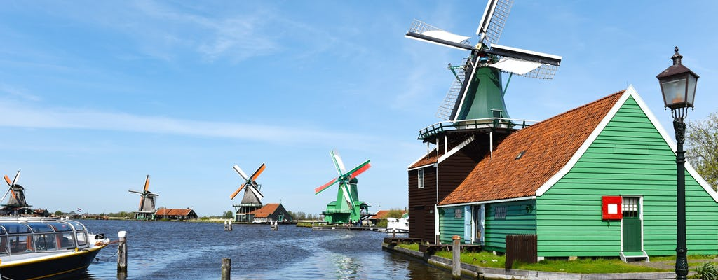 Tour di mezza giornata a Zaanse Schans e crociera sul canale di Amsterdam