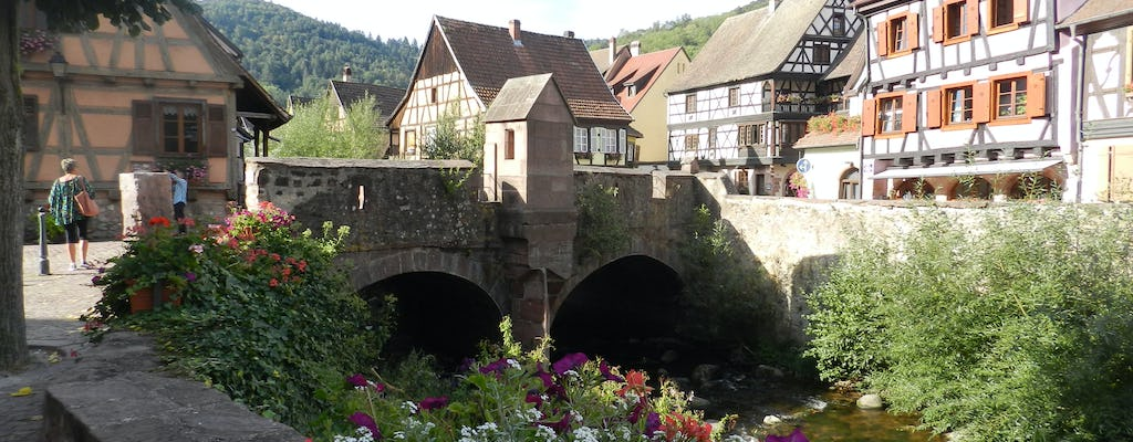 Alsace villages full day tour with wine tasting