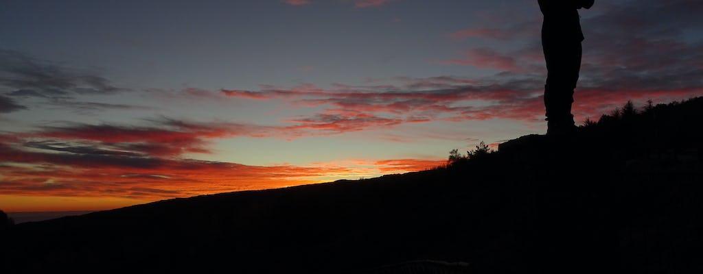 Tour al tramonto dell'Etna