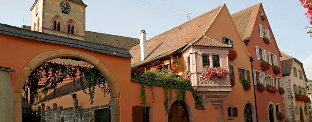 Half day morning tour of Hunawihr and Riquewihr with wine tasting