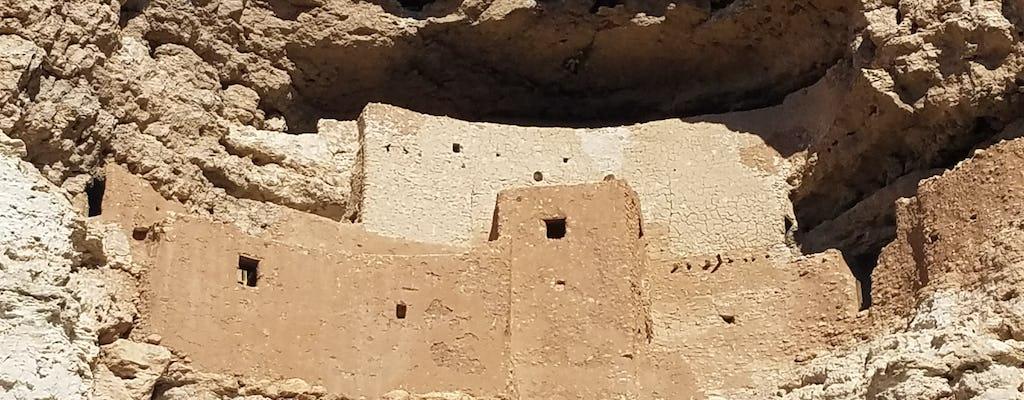 Excursão de um dia no Montezuma Castle, Jerome e Sedona