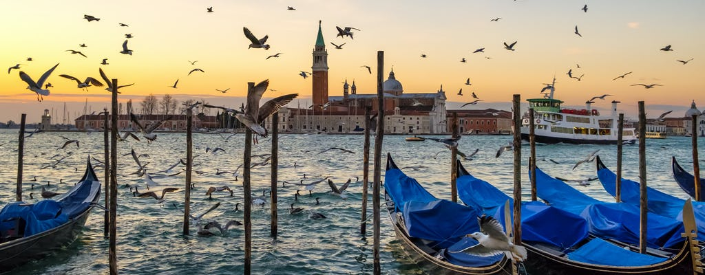Walking tour of Venice with Doge's palace skip the line and gondola ride