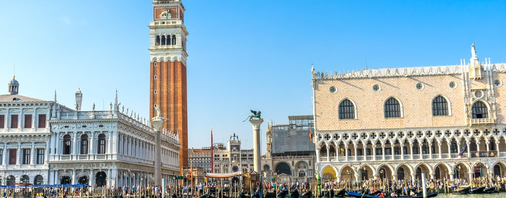 Doge's Palace and St Mark's Square museums skip-the-line tickets with gondola ride