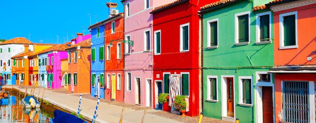 Murano, Burano and Torcello islands day trip