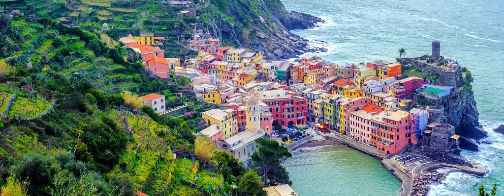Highlights of Pisa and Cinque Terre tour from Florence