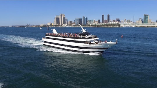 San Diego 2-hour full bay cruise