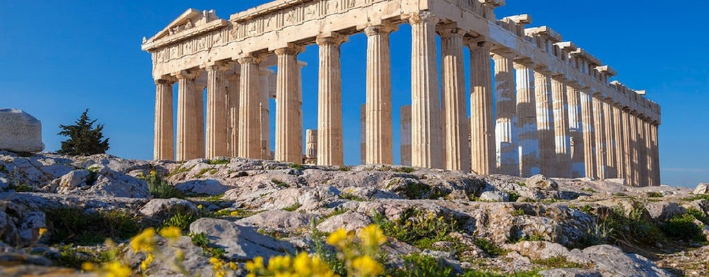 Acropolis of Athens ticket with audio tour on your phone