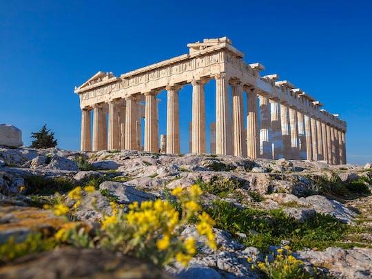 Entrada a la Acrópolis de Atenas con guía de audio en tu móvil