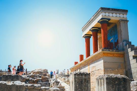 Billet coupe-file pour le palais de Knossos avec visite audio sur votre téléphone