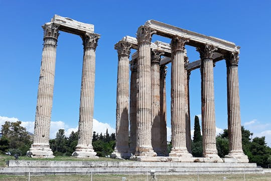 Athens: Temple of Olympian Zeus E-ticket with audio tour on your phone