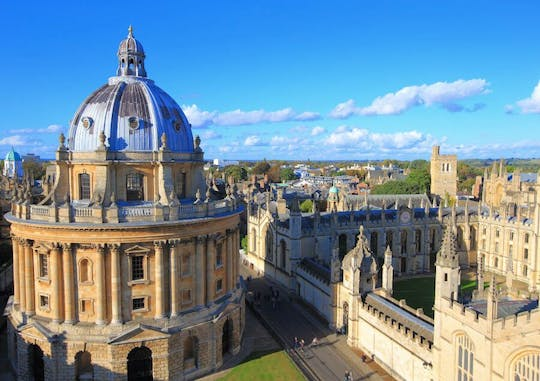 City of Oxford, Stratford and the Cotswolds with 2 course lunch