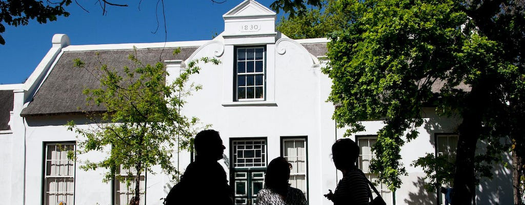 Stellenbosch traditional cuisine and wine walk