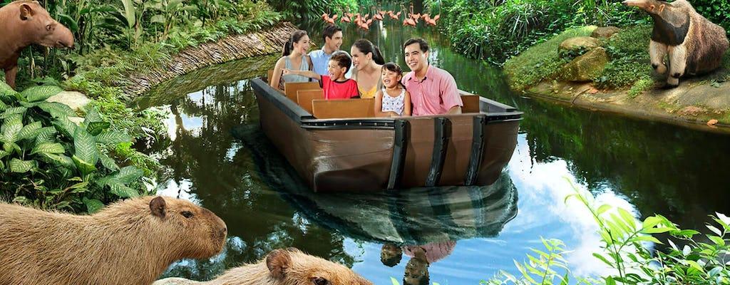 River safari admission tickets