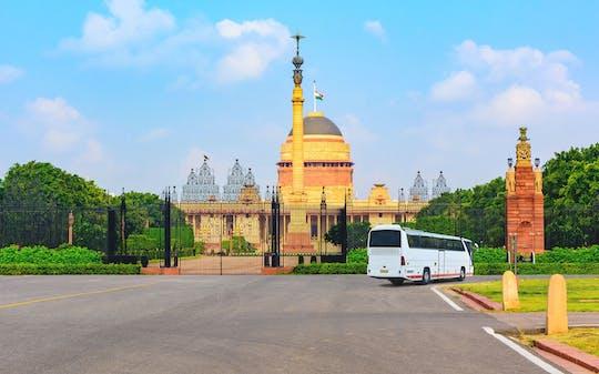 Delhi city tour by bus