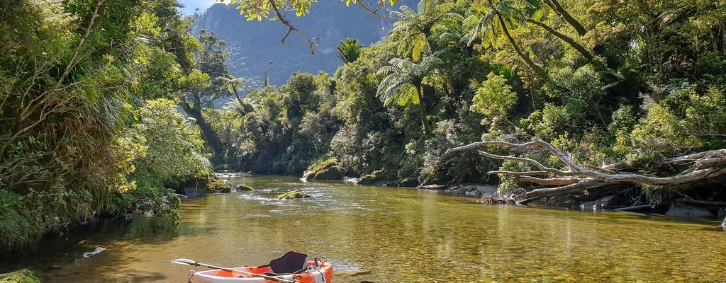 Kayaking adventure down the Struma river