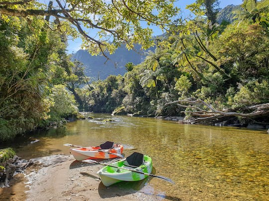 Kayaking adventure down the Struma river