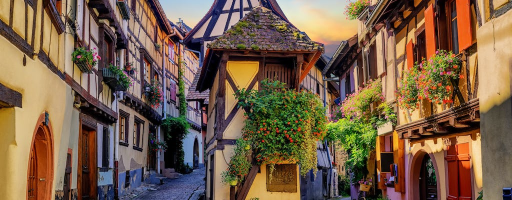 Full-day shared tour of the pearls of Alsace
