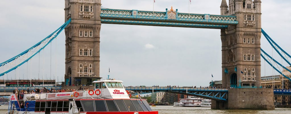 24 hour Thames River pass and Tower Bridge Exhibition