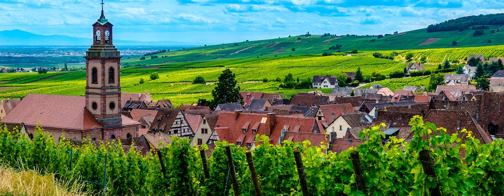 Alsace villages half-day shared  tour from Colmar
