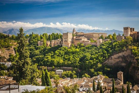 Tour dos arredores de Alhambra