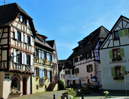 Alsace villages and wine route half day morning tour