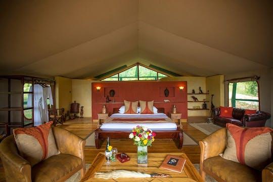Safari de deux jours au Masai Mara au Mara Engai Wilderness Lodge