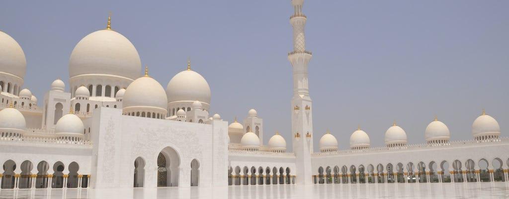 Мечеть Абу-Даби и Музей Лувр с обедом из Дубая